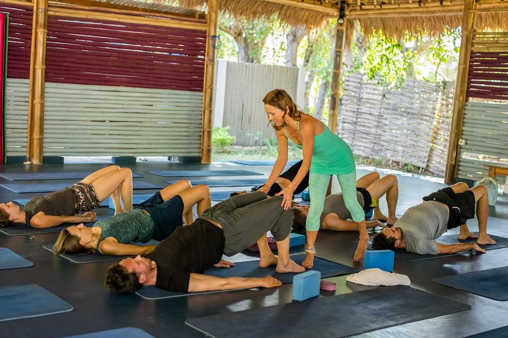 Bali Yoga Teacher training - Accommodation Gili Air Lombok